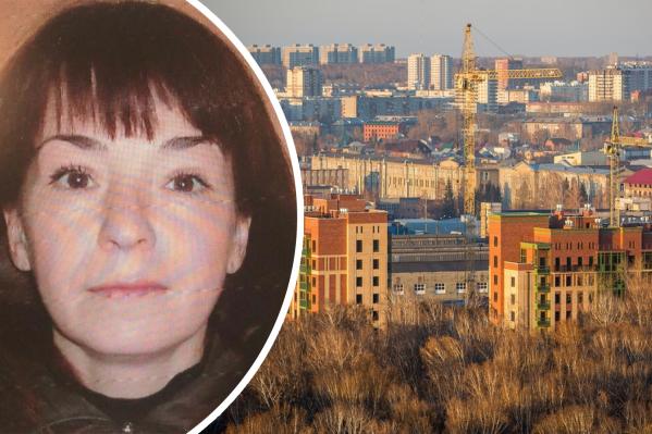 Женщина ушла из дома в Центральном районе и пропала
