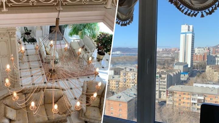 На Бограда продают элитную квартиру в классическом стиле с видом на Коммунальный мост