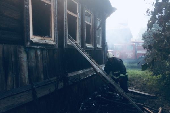 Пока неизвестно, что стало причиной пожара