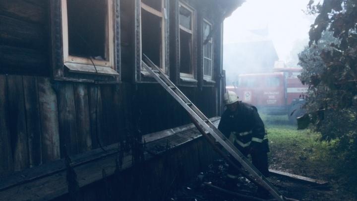 В Пильнинском районе при пожаре погибли три ребёнка