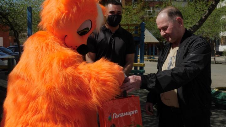 «Галамарт» поздравил ветеранов клуба «Автомобилист» с приближающимся праздником
