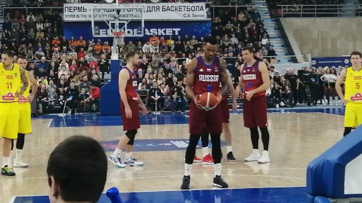Сборная России победила Северную Македонию в матче Евробаскета. Мы следили за игрой в режиме онлайн
