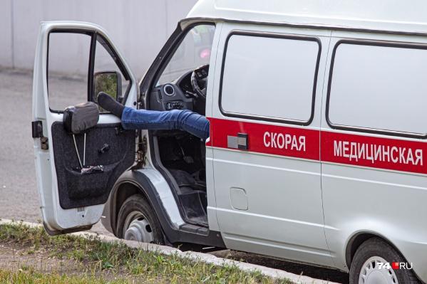Похоже, что скорую дождаться в Челябинске сегодня вовремя не получится даже тем, кто на короткой ноге с чиновниками от здравоохранения