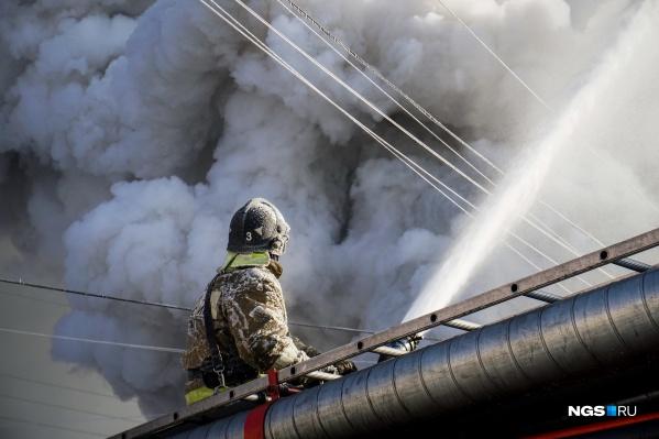 Пожар ликвидировали через 7 минут