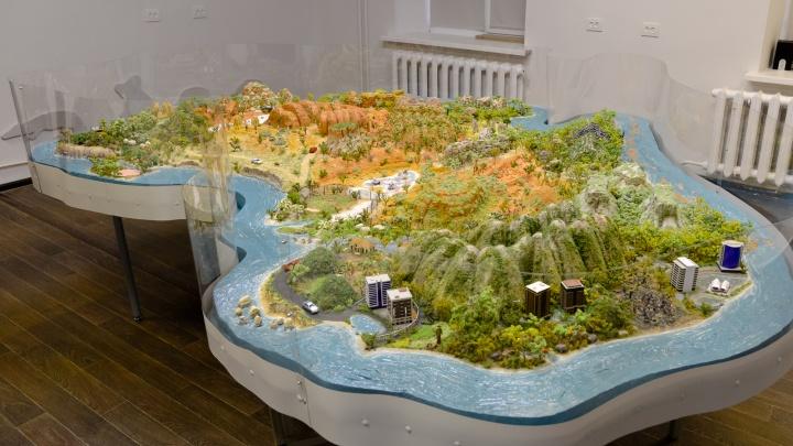 В Архангельске сделали огромный макет Австралии — смотрим на видео, как это выглядит