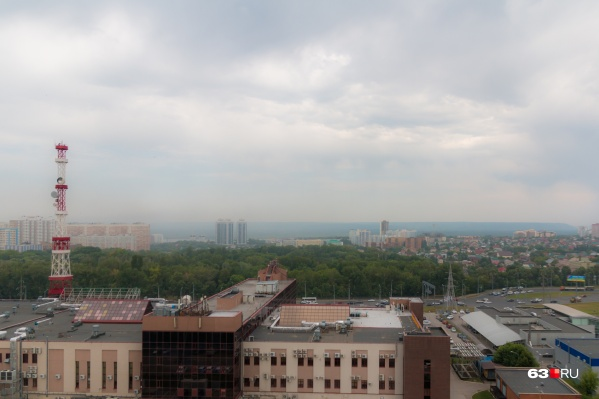 Самарцы жалуются, что в некоторых районах тяжело дышать