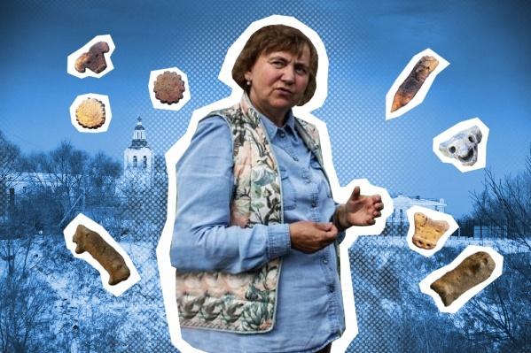 Профессор Наталья Матвеева более 40 лет занимается археологическими исследованиями. Она почетный работниквысшего профессионального образования РФ