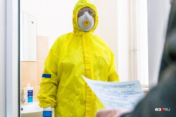 Первые два теста на коронавирус у врача показали отрицательные результаты