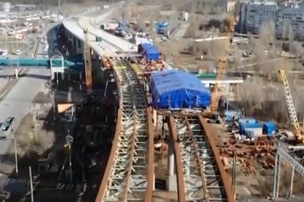 Путепровод в Тольятти строят уже больше пяти лет