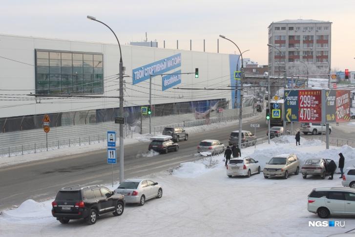 Первый новосибирский «Декатлон» откроется напротив «Леруа Мерлена» на Дмитровском мосту