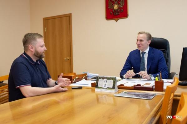Директор ДГХ Ярослав Овчаров рассказал о вакансиях в департаменте