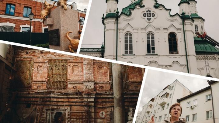 Секс-шоп в центре, девушки у витрин и «площадь голубей»: вспоминаем историю района Спасской церкви