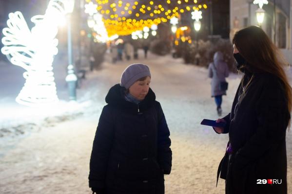 Пенсионерку Надежду беспокоит проблема мусора в Архангельской области