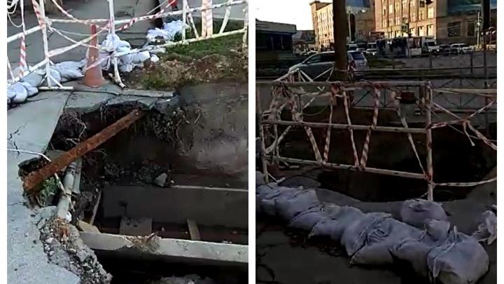 Ещё в мае на Серебренниковской разрыли огромную яму — вот как она выглядит сейчас
