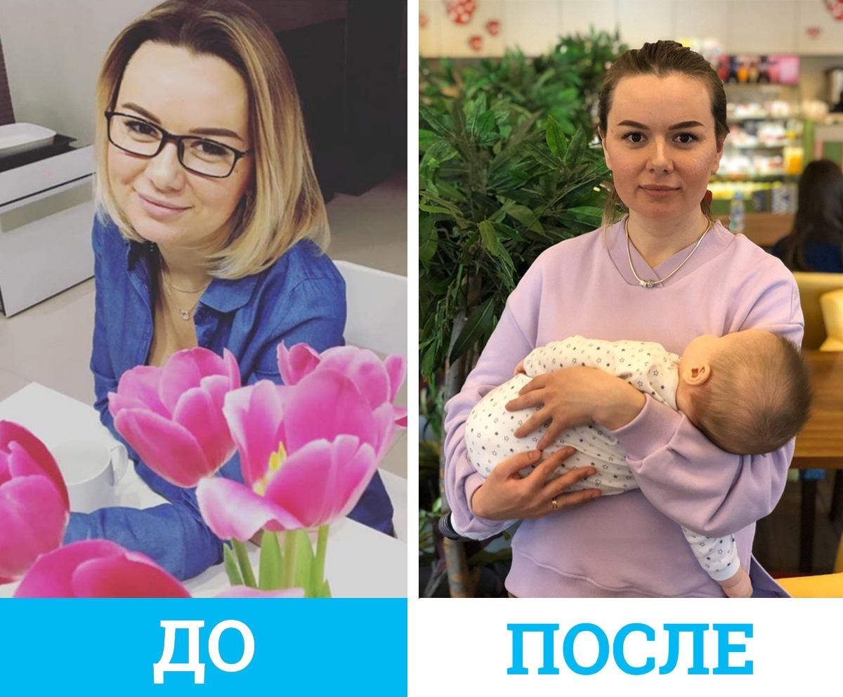 Светлана считает, что кожа и волосы улучшаются от питания, витаминов и от хороших средств, а не от родов