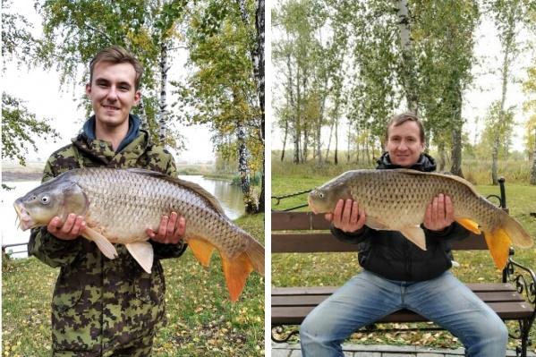 Рыбаки с огромным уловом
