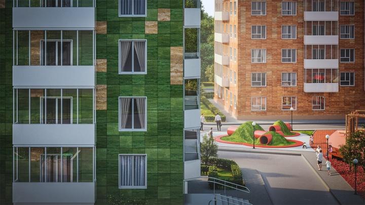 На Коминтерна строят неприлично красивый жилой комплекс, во дворе здесь.вырыли большие лисьи норы