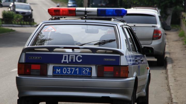 В Северодвинске автомобиль наехал на двухлетнего ребёнка