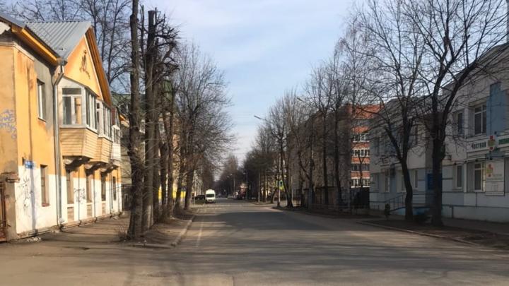 Один в пустом городе: ярославец снял улицы без людей