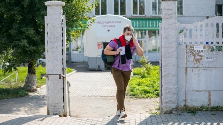 В Красноярском крае 103 новых случая ковида за сутки