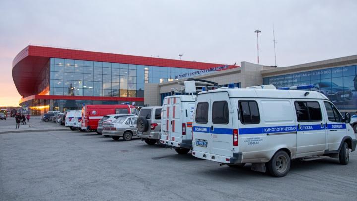 В челябинском аэропорту почти на три часа задержали рейс до Петербурга из-за сообщения о бомбе