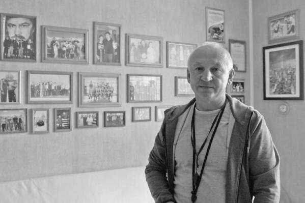 Лев Фомин тренировал юных боксеров в Новых Лядах