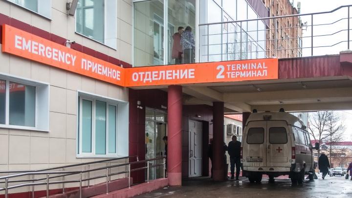 Холл стал «красной» зоной: в больнице Середавина расширили приемное отделение