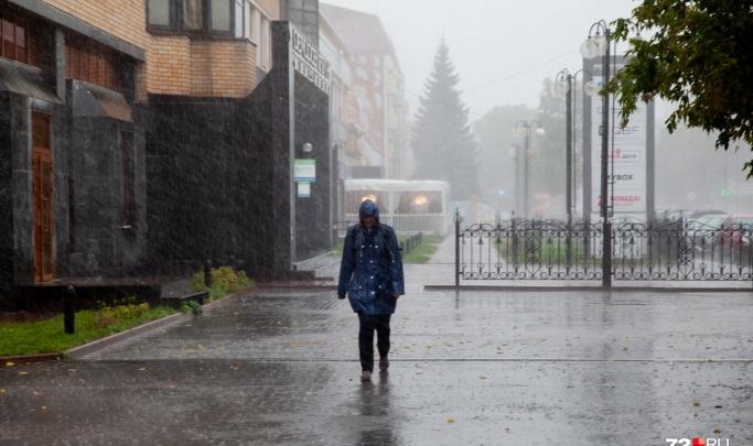 Ветер до 27 метров в секунду: тюменцев вновь предупреждают о снеге и гололёде