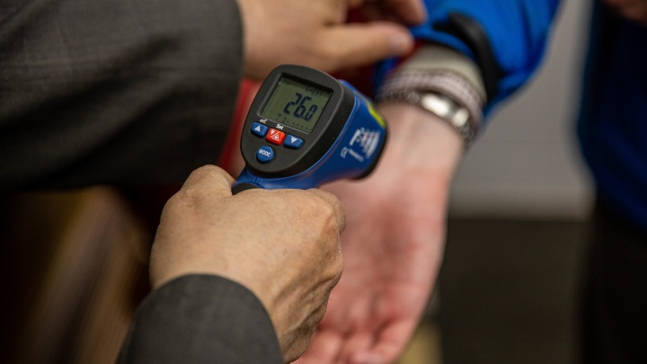 В Зауралье у всех пришедших проголосовать за поправки в Конституцию будут измерять температуру