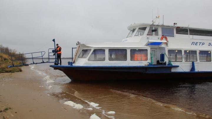 Теплоходное сообщение с островными территориями Архангельска восстановлено