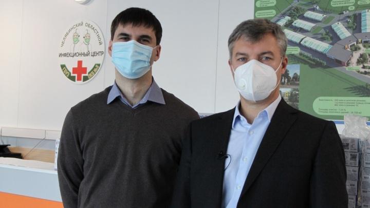 Вместе — сильнее: предприниматели подарили новому инфекционному центру тонометры и пульсоксиметры