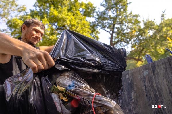 """Сейчас вывоз одного кубометра отходов <a class=""""io-leave-page _"""">стоит</a> 598 рублей 16 копеек"""