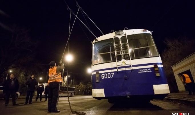 В Волгограде коллекторское агентство продает диспетчерскую троллейбуса №18