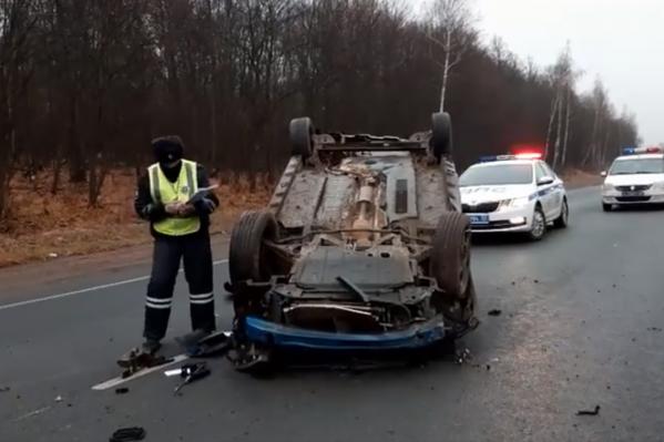 В машине находился 12-летний пассажир