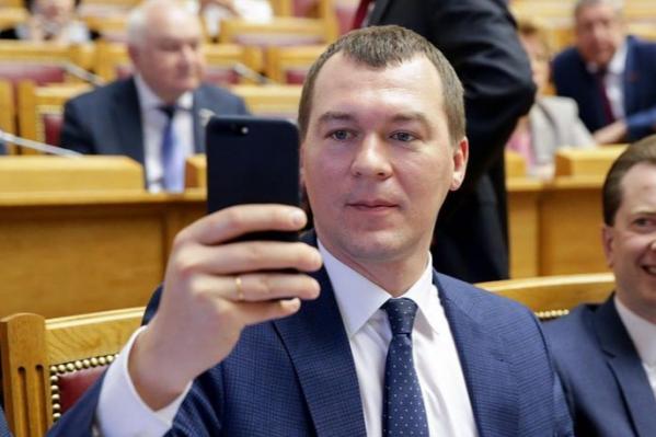 Михаил Дегтярев прославился необычными инициативами