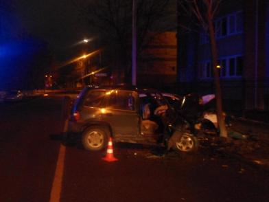 Пять человек пострадали в ночном ДТП в Ярославле