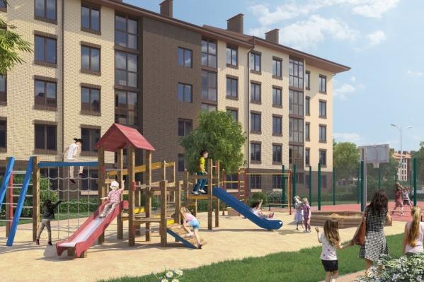 Трехкомнатная квартира-распашонка в «Северном квартале» — это идеальный вариант для семьи с детьми