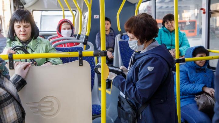 В Волгограде временно изменили маршруты автобусов из-за утренней аварии