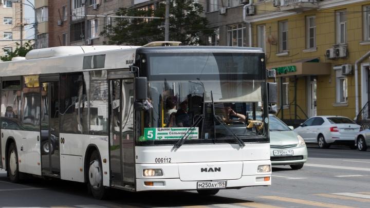 В Ростове отменили два автобусных маршрута