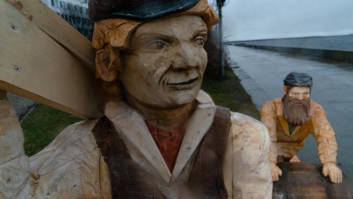 В Архангельске появилась новая скульптура — посвящение трудовому народу. Нравится ли вам? Опрос 29.RU
