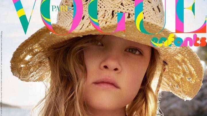 «Моя малышка на обложке»: 6-летняя дочка Наташи Поли снялась для детского Vogue