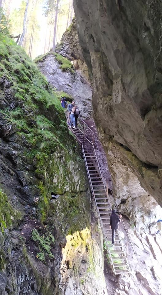 Тот самый спуск к воде, рядом с которым на голову туристу упал большой камень
