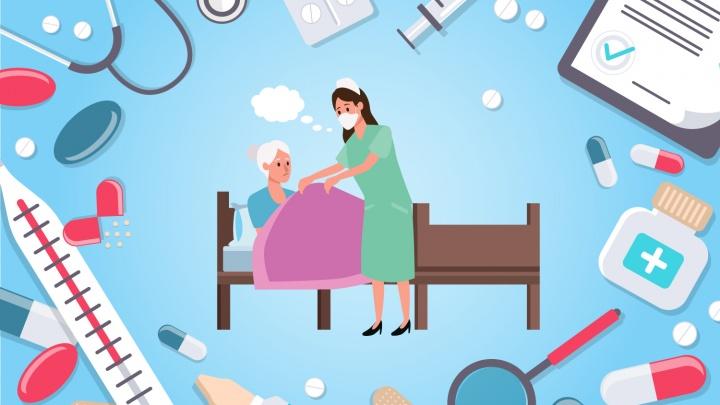 Инфографика: в каком возрасте чаще умирают от рака и еще два факта об онкобольных в Архангельской области