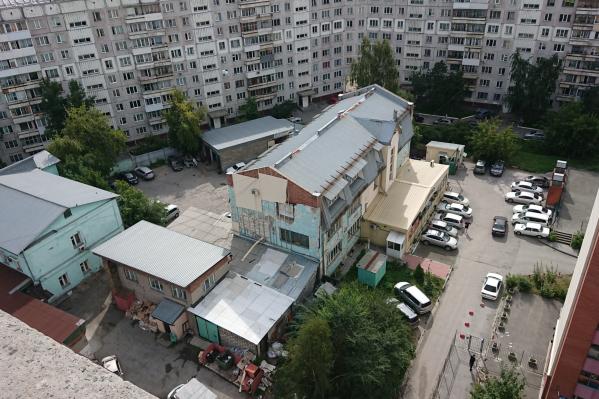 Новая высотка вырастет вместо кондитерской фабрики на улице Красноярской, 132