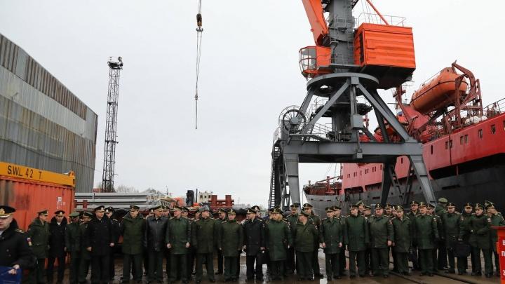 Морской терминал для логистического комплекса Минобороны РФ собираются построить в Маймаксе