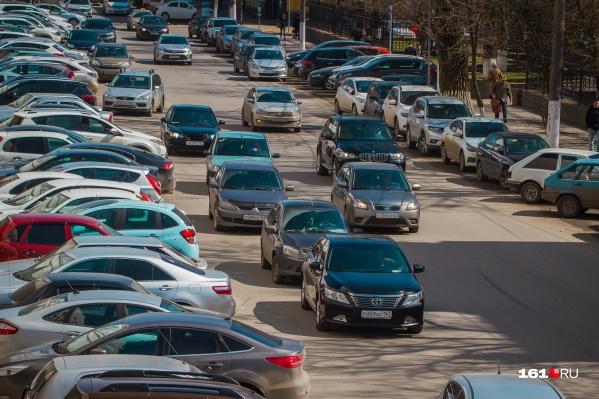 Последние несколько лет ростовские водители могли спокойно не платить за платную парковку