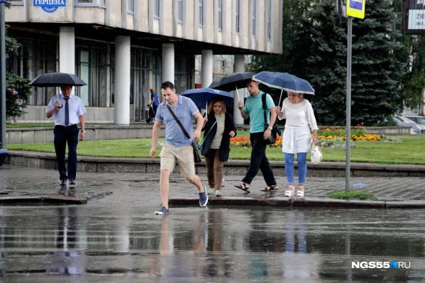 Завтра в Омской области спадёт жара