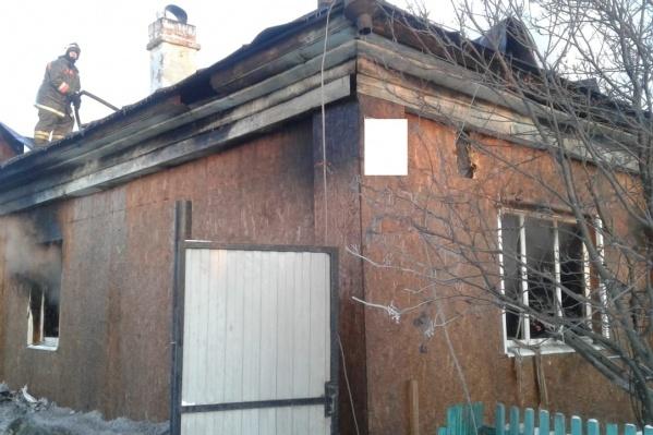 Хозяин дома поругался с родственницей и устроил пожар