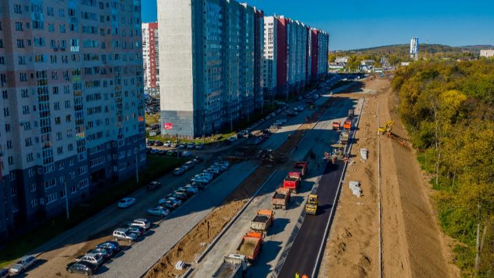 В Уфе достроили две новые улицы, названные в честь машиностроителей