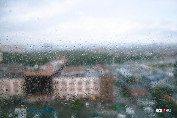 В регион придут дожди и грозы